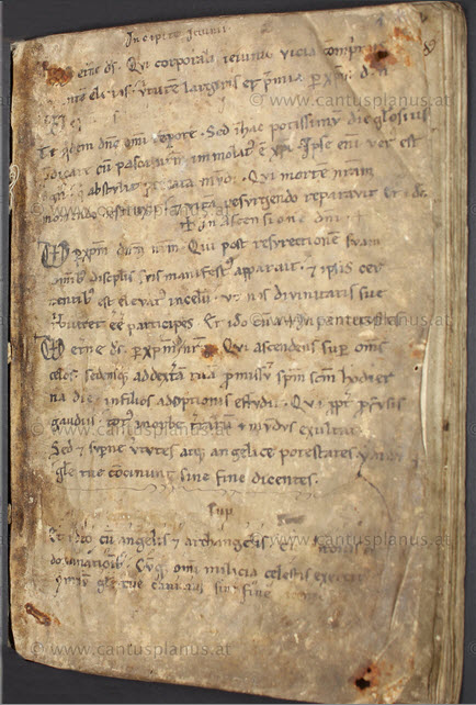 Gradual-Missale aus St. Veit